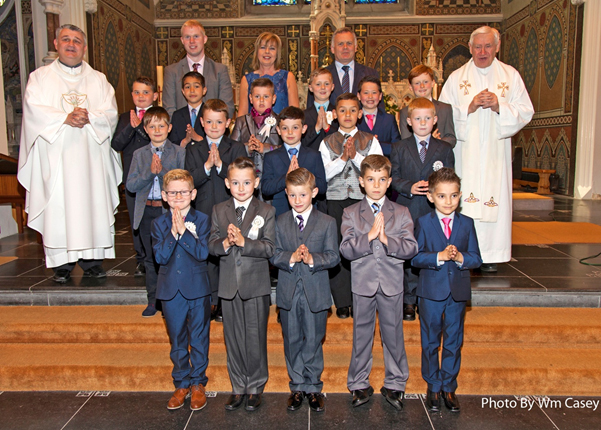 CBS Boys' Primary Holy Communion class 2015