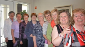 Some of the Josephite Sisters celebrating in Charleville in 2010 (L to R): Julie Joyce, Sarah Hogan, Ellen Lane, Margaret O'Sullivanj, Eileen King, Eileen Kearney-O Connor, Briege Buckley, Mary Hegarty-Higgins and Mary Beecher-Convery.