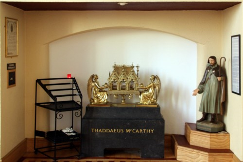 Relics of Bl. Thaddeus McCarthy