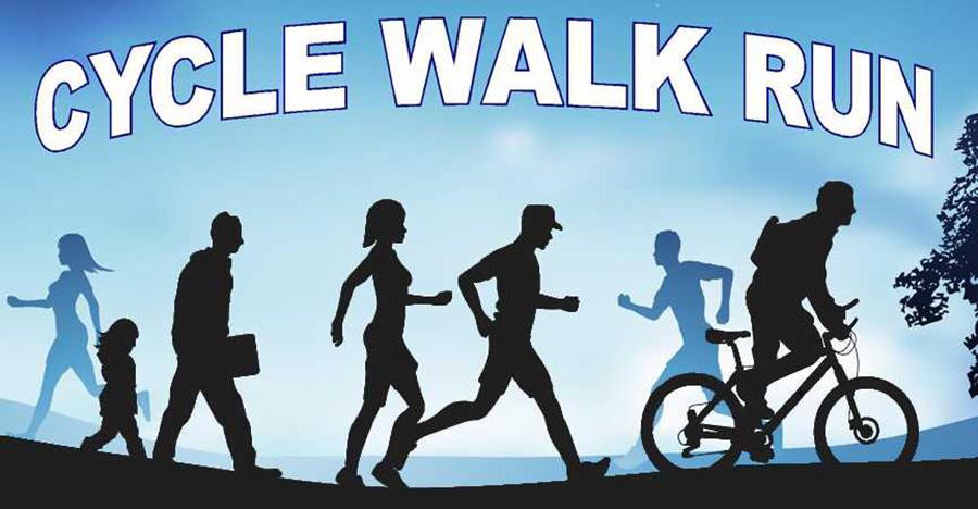 Cycle-Walk-Run