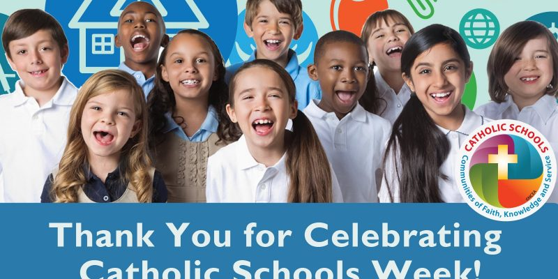CATHOLIC SCHOOLS' WEEK 2018