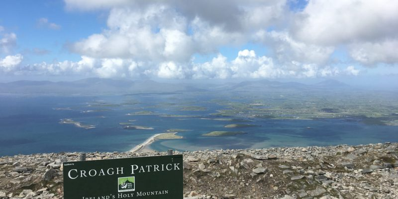 TRAVELLER MEN'S PILGRIMAGE TO CROAGH PATRICK