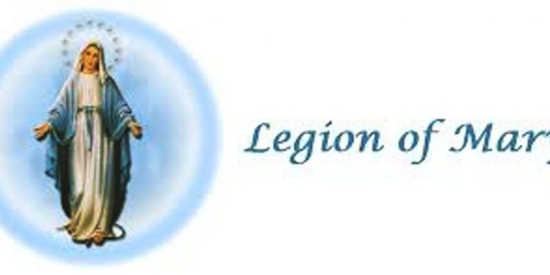 GRATITUDE TO THE LEGION OF MARY